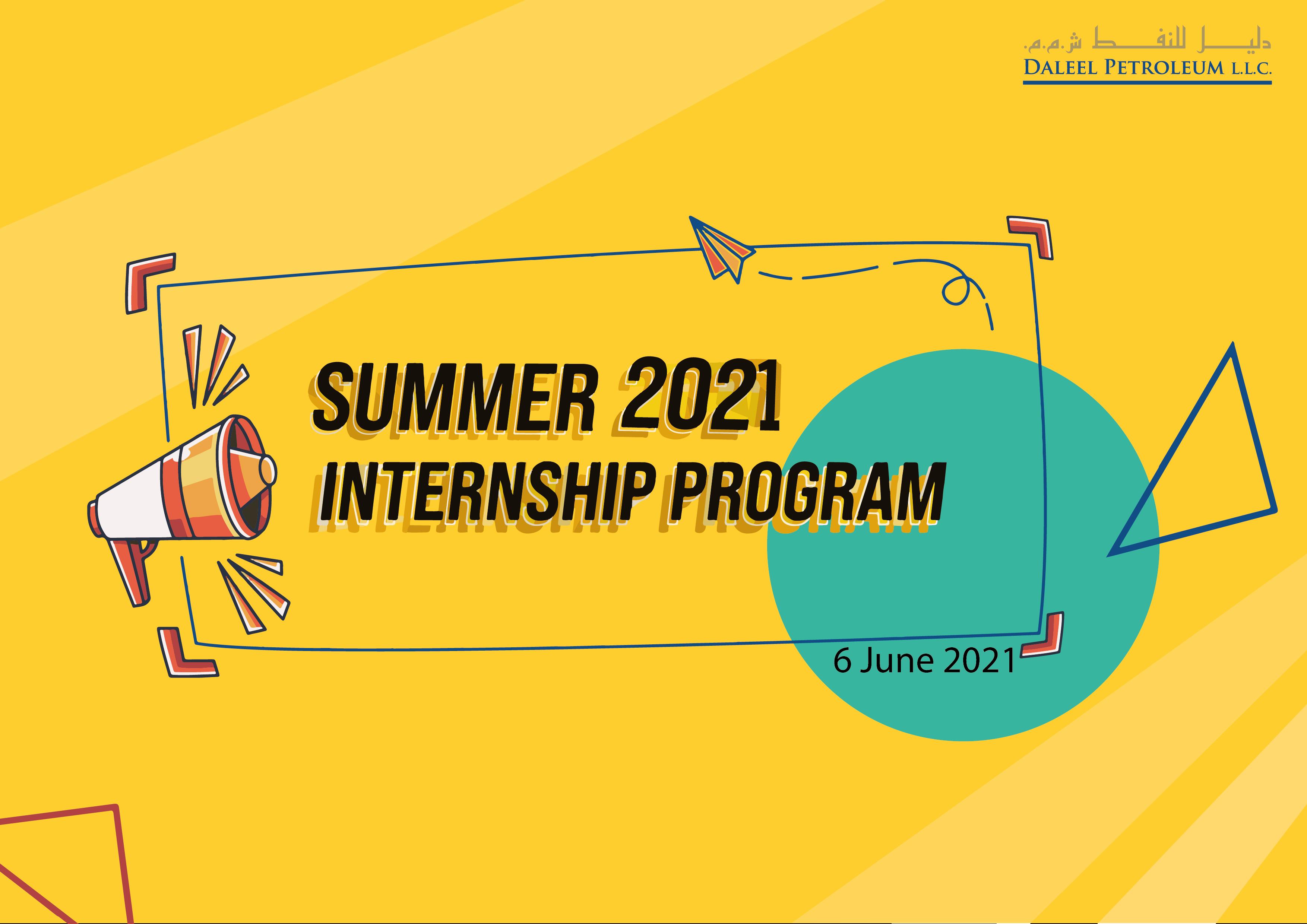 Virtually: Daleel Petroleum Welcomes 74 Students for Summer Internship Program